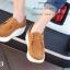 รองเท้าผ้าใบเสริมส้น เพื่อสุขภาพ แนววินเทจ (สีน้ำตาล ) thumbnail 5
