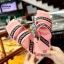 รองเท้าแตะแฟชั่นสีชมพู เปิดส้น งานสไตล์ลำลองเกร๋ๆ (สีชมพู ) thumbnail 4