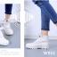 รองเท้าบูท หุ้มข้อ สไตล์PALLADIUM ใส่ได้หลายแบบ (สีขาว ) thumbnail 2