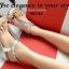 รองเท้าลำลองรัดส้น แบบคีบ (สีเงิน ) thumbnail 4