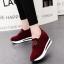 รองเท้าผ้าใบมัฟฟิน สไตล์เกาหลี (สีแดง ) thumbnail 3