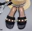 รองเท้าแตะลำลองสีดำ สไตล์แบรนด์ GUCCI (สีดำ ) thumbnail 1