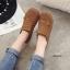 รองเท้าผ้าใบผู้หญิง สไตล์วินเทจ (สีน้ำตาล ) thumbnail 3