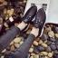 รองเท้าผ้าใบแฟชั่นสีดำ แต่งเพชร สไตล์เกาหลี (สีดำ ) thumbnail 3