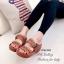 รองเท้าแตะสไตล์ลำลอง เปิดส้น พื้นสุขภาพ แนววินเทจ (สีน้ำตาล ) thumbnail 4