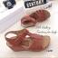 รองเท้าแตะ รัดส้น พื้นสุขภาพ นิ่มสบายเท้า (สีน้ำตาล ) thumbnail 4