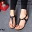 รองเท้าลำลองรัดส้น แบบคีบ (สีดำ ) thumbnail 2