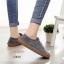 รองเท้าผ้าใบผู้หญิง สไตล์วินเทจ (สีเทา ) thumbnail 5