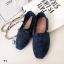 รองเท้าผ้าใบลายลูกไม้สีกรม งานโครเชถัก Style Brand Toms (สีกรม ) thumbnail 1