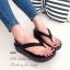 รองเท้าแตะ รัดส้น หูหนีบ สไตล์Fitflop (สีดำ ) thumbnail 4