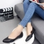 รองเท้าคัทชูส้นแบนสีดำ หนังนิ่ม สไตล์แบรนด์ ZARA (สีดำ )