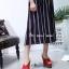รองเท้าส้นสูงสีแดง สายคาดไขว้ สไตล์เกาหลี (สีแดง ) thumbnail 1