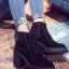 รองเท้าบูทผู้หญิง กันหนาว บุขน (สีม่วง ) thumbnail 1