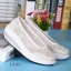 รองเท้าผ้าใบเสริมส้นสีครีม ผ้าลูกไม้ พื้นสุขภาพ (สีครีม ) thumbnail 3