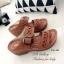 รองเท้าแตะสไตล์ลำลอง เปิดส้น พื้นสุขภาพ แนววินเทจ (สีน้ำตาล ) thumbnail 3