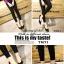 รองเท้าคัทชูหัวแหลม ส้นกลม หน้าวี (สีดำ ) thumbnail 2
