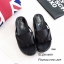 รองเท้าแตะส้นตึกสีดำ แบบคีบ คาดเท้า พื้นฟองน้ำอัด (สีดำ ) thumbnail 2