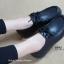 รองเท้าคัทชูหนัง สไตล์วินเทจ (สีดำ ) thumbnail 3