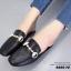 รองเท้าส้นแบนเปิดส้นสีดำ สไตล์แบรนด์ GUCCI (สีดำ ) thumbnail 5