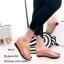รองเท้าแตะผู้หญิงสีน้ำตาล แบบคีบ สไตล์ลำลอง (สีน้ำตาล ) thumbnail 2