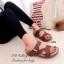 รองเท้าแตะ เพื่อสุขภาพ ปุ่มยางช่วยนวดเท้า ใส่ได้ตลอดวัน (สีน้ำตาล ) thumbnail 4