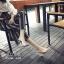 รองเท้าส้นแก้วรัดข้อ ดีไซด์โค้งเว้าสวยงาม (สีเงิน ) thumbnail 3