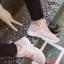 รองเท้าผ้าใบแฟชั่นสีชมพู ผ้าตาข่าย ดีไซน์สวย (สีชมพู ) thumbnail 4