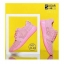 รองเท้าผ้าใบเสริมส้นสีชมพู ผ้าตาข่าย น้ำหนักเบา (สีชมพู ) thumbnail 2