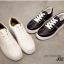 รองเท้าผ้าใบ แบบเชือก ด้านในบุฟองน้ำ งานเริ่ด (สีขาว ) thumbnail 4