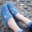 รองเท้าคัทชู สไตล์สุภาพ หนังนิ่ม (สีน้ำเงิน ) thumbnail 3