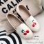 รองเท้าผ้าใบผู้หญิง ขอบเชือกปอ สไตล์โบฮีเมี่ยน (สีครีม ) thumbnail 3