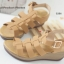 รองเท้าส้นเตารีดรัดส้น แนวญี่ปุ่น (สีแทน ) thumbnail 7