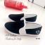 รองเท้าผ้าใบ ลำลอง แบบสวม สไตล์FredPerry (สีดำ ) thumbnail 3