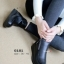 รองเท้าบูทผู้หญิง แต่งซิปข้าง ใส่หน้าหนาว (สีดำ )