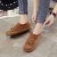 รองเท้าผ้าใบผู้หญิง สไตล์วินเทจ (สีน้ำตาล ) thumbnail 8