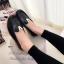 รองเท้าคัทชู ส้นเตี้ย หนังนิ่ม หน้าวี (สีดำ ) thumbnail 3
