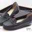 รองเท้าคัทชูผู้หญิง ทรงMoccasins (สีดำ ) thumbnail 3