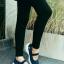 รองเท้าผ้าใบยางยืดสีกรม Style Sketcher การันตีว่านุ่มมาก (สีกรม ) thumbnail 2