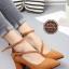 รองเท้าคัทชูส้นสูง รัดข้อ ทรงสุภาพ (สีน้ำตาล ) thumbnail 1