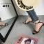 รองเท้าส้นสูงสีดำ รัดข้อ สไตล์แบรนด์ GIVENCHY (สีดำ ) thumbnail 6