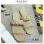 รองเท้าแตะผู้หญิงสีแอปริคอท เปิดส้น สายคาดแบบโซ่ (สีแอปริคอท ) thumbnail 2
