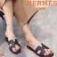รองเท้าแตะ แบบสวม สไตล์ชิลๆ (สีดำ )
