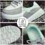 รองเท้าผ้าใบแฟชั่นสีดำ korea style ดีไซน์เก๋ส์ (สีดำ ) thumbnail 6