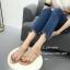 รองเท้าแตะผู้หญิงสีครีม แบบคีบ Style Zara (สีครีม ) thumbnail 2