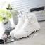 รองเท้าบูท หุ้มข้อ สไตล์PALLADIUM ใส่ได้หลายแบบ (สีขาว ) thumbnail 1