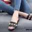 รองเท้าแตะลำลองสีดำ สไตล์แบรนด์ GUCCI (สีดำ ) thumbnail 2