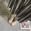รองเท้าส้นแก้วรัดข้อ ดีไซด์โค้งเว้าสวยงาม (สีเงิน ) thumbnail 5