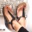 รองเท้าลำลองรัดส้น แบบคีบ (สีดำ ) thumbnail 3