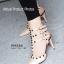 รองเท้าส้นสูงรัดข้อ สไตล์VALENTINO (สีแอปปริคอท ) thumbnail 4