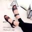 รองเท้าแตะ ลำลอง รัดข้อเท้า สายรัดเมจิกเทป (สีดำ ) thumbnail 5